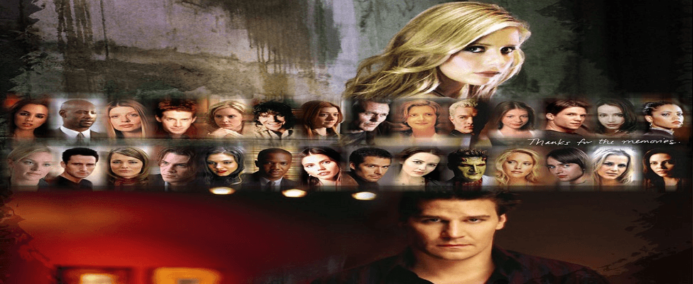 Buffy The Vampire Slayer and Angel